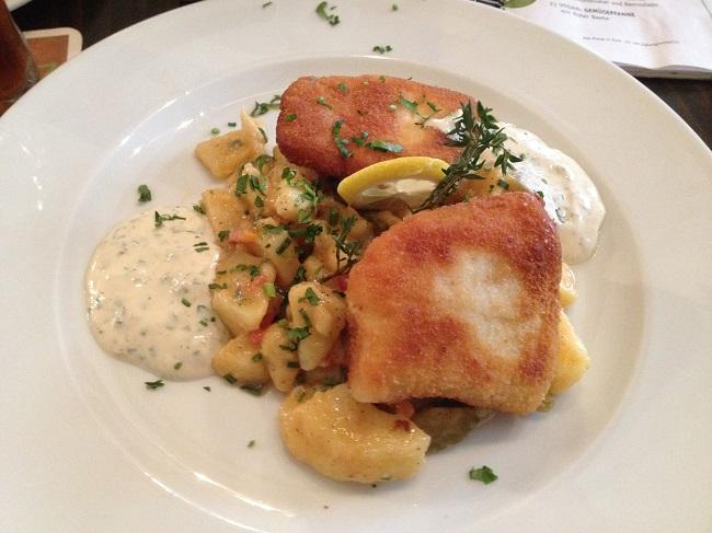 ein cooles Fischgericht am Freitag in der Jazzküche