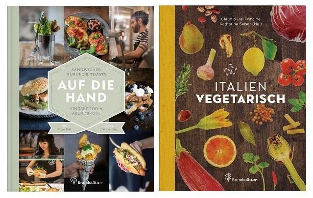 2 neue Buch-Titel aus dem Brandstätter Verlag