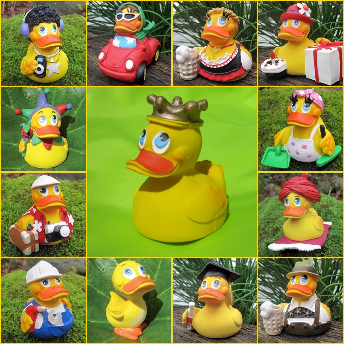 Lanco Ducks - Quietche-Entchen aus Naturlatex