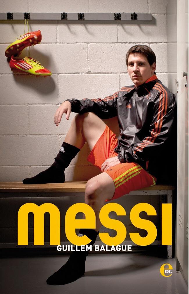 Buchtitel Messi - Die Biografie