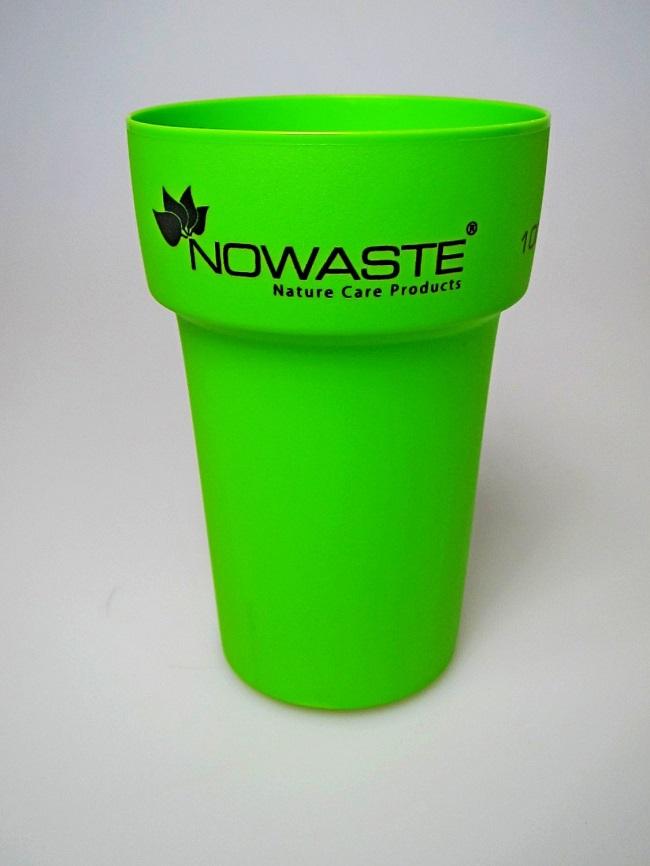 Ein Plastikbecher ohne Plastik, sonder 100% Natur