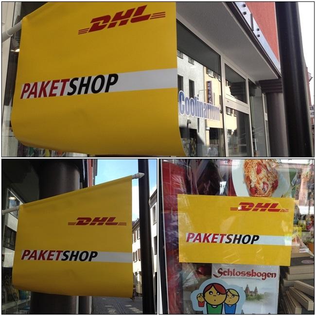 Im Coolinarium gibt es nun einen DHL Paketshop
