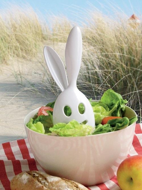 Invotis Salatbesteck Salad Bunny