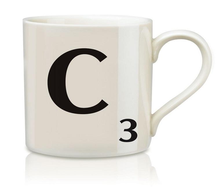 Scrabble Buchstabenbecher C