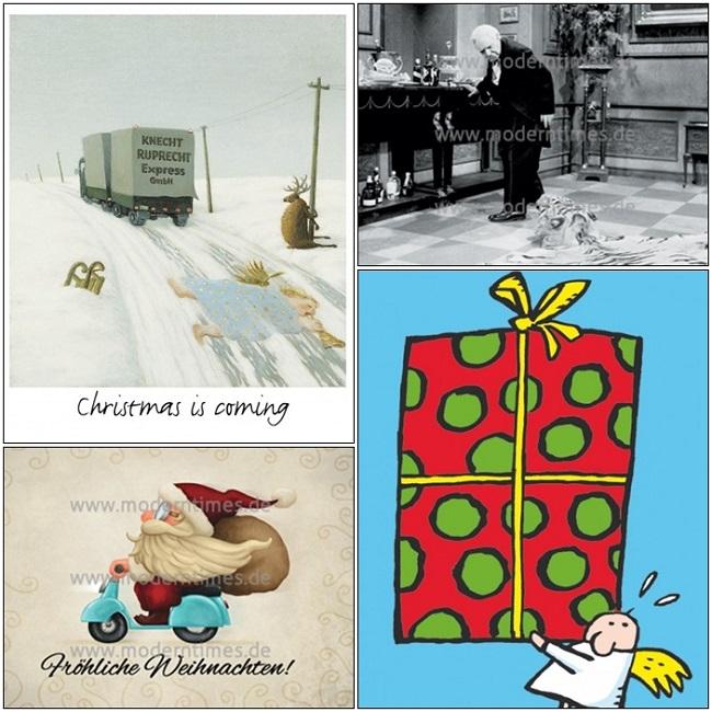 Die passenden Postkarten zum Weihnachtsfest