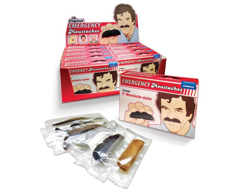 Notfall-Schnurrbart-Set
