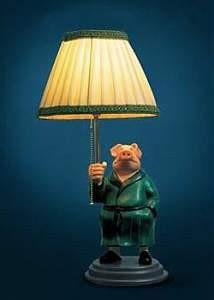 Die Schweinelampe aus dem Kinofilm