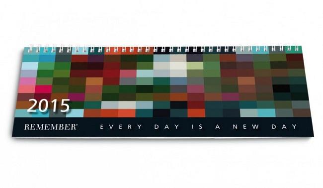 Kalender für das Jahr 2015