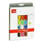 Vacu Vin Glas-Marker-Set - Party People, 12-teilig