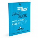 Donkey Products Malbuch - My first Face-Book