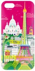 Pylones iPhone 5 Backcover-Schutzhülle - I cover Paris pink
