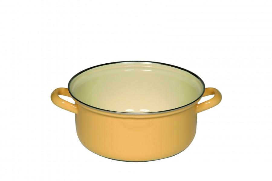 riess kasserolle 2 l mit deckel 20 cm goldgelb essen trinken kochen pfannen t pfe. Black Bedroom Furniture Sets. Home Design Ideas