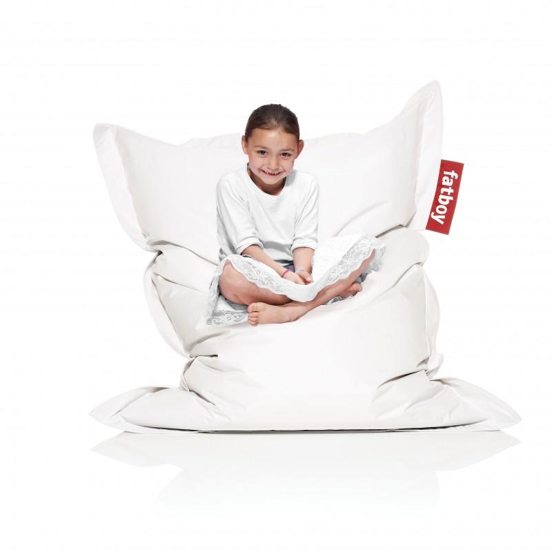 fatboy sitzsack fatboy junior wei drinnen fatboy fatboy. Black Bedroom Furniture Sets. Home Design Ideas