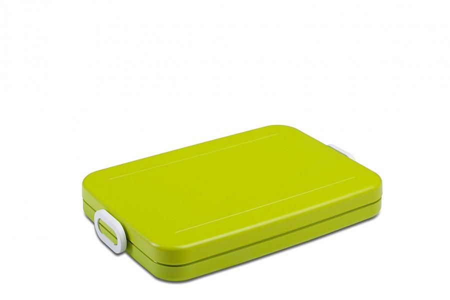 rosti mepal lunchbox tab flat latin lime drau en mach mal pause lunchbox take a break flat. Black Bedroom Furniture Sets. Home Design Ideas