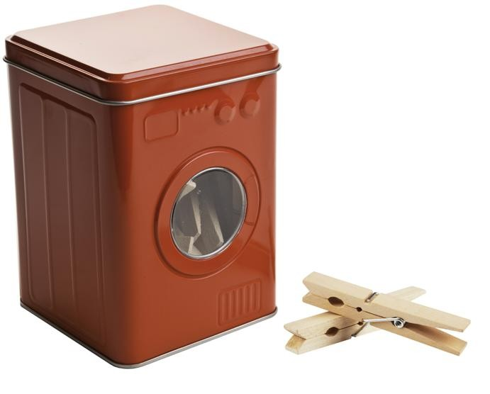 balvi w scheklammer box waschmaschine rot drinnen in der. Black Bedroom Furniture Sets. Home Design Ideas