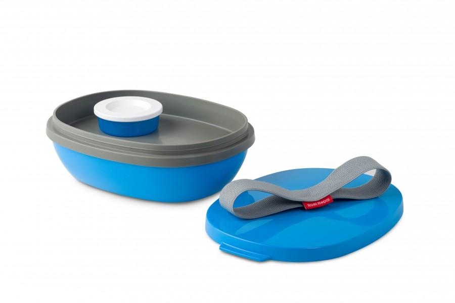 rosti mepal lunchbox ellipse duo aqua drau en mach mal pause lunchbox ellipse duo. Black Bedroom Furniture Sets. Home Design Ideas