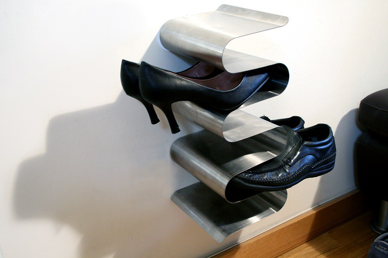 j me schuhregal zur wandbefestigung nest shoe rack. Black Bedroom Furniture Sets. Home Design Ideas